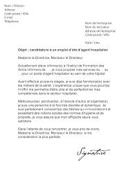 exemple lettre de motivation cuisine 7 lettre motivation été lettre officielle