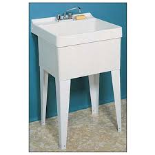 fiat fl 1 floor mounted single serv a sink laundry tub