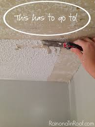 Skim Coat Ceiling Vs Plaster Ceiling by How And How Not To Remove Popcorn Ceilings