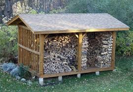 firewood storage shed diy
