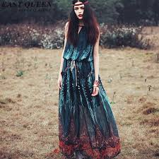 Hippie Bohemian Style Boho Dress Mexican Embroidered Chic Dresses KK1430 H