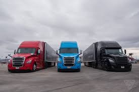 100 Big D Truck Stop Aimler Is Beating Tesla To Making Semiautonomous Big Rigs The Verge