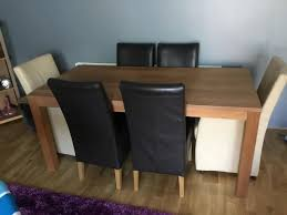Dining Table With Carver Chairs Two And Four