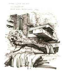 100 Frank Lloyd Wright Sketches For Sale Fallingwater By CueQQ On DeviantArt