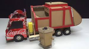 How To Make RC Garbage Truck - Amazing From Coca Cola And Cardboard ...