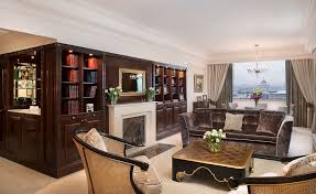 Living Room With Fireplace And Bookshelves by The Moscow Suite In Moscow Russia The Ritz Carlton Moscow