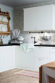 A Fresh Kitchen With Rustic Style
