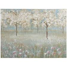 Cherry Blossom Curtain Blue by Cherry Blossom Tree Art Pier 1 Imports