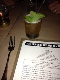 The Breslin Bar Menu by The Breslin Bringing Classic Nose To Tail British Food To The