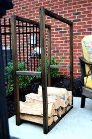 18 firewood storage ideas