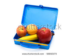 Open Lunch Box Clipart