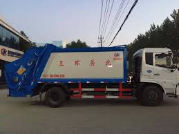 China Dongfeng 4X2 Waste Collector Compressed 14 M3 Compactor ...