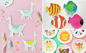 17 Creative Paper Plate Crafts For Kids That Are Perfect Summer
