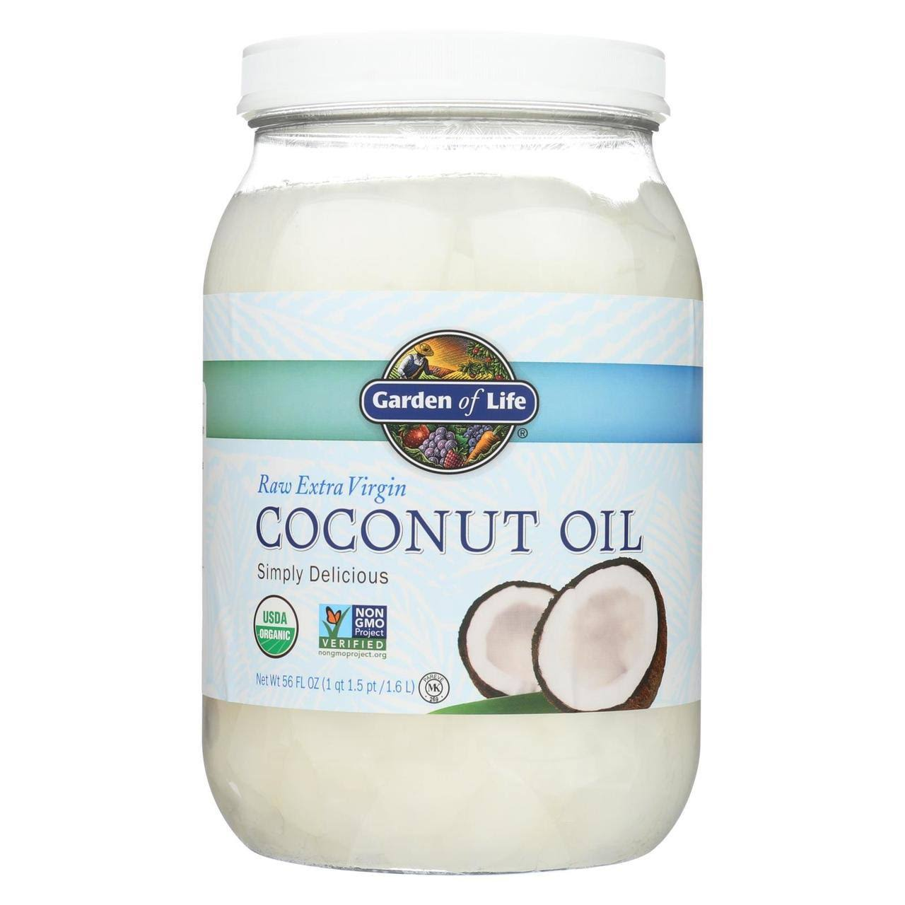 Garden of Life Organic Raw Extra Virgin Coconut Oil - 1.5l