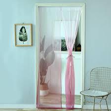 großhandel gardinen farbverlauf polyesterfaser tür fenster moderne wohnzimmer vorhänge tüll sheer stoffe rideaux cortinas 200x50 cm bassy168 5 49