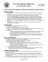 Resume Examples Templates Pharmacy Technician Tech Template
