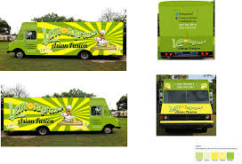 100 Lemongrass Food Truck Bold Playful It Company Vector Design For A Company By AweHH