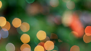 Blinking Xmas Tree Lights by Bokeh Effect Of Blinking Christmas Lights Stock Video Footage