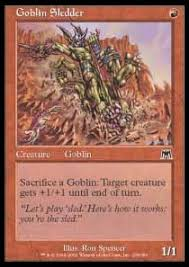 goblin mini commander deck proxy mtg vault