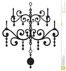 Full Size Of Chandelier White And Black Ii Canvas Art Painting