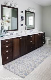 Extra Large Bathroom Rugs And Mats by Collection In Double Vanity Bath Rug Lake House Master Bath