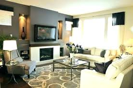 Interior Blue Accent Wall Transitional Living Room Throughout Walls Plan From Dark Gray Ideas And Grey