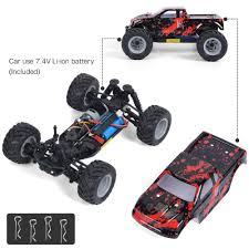 GPTOYS Remote Control Car - 4x4 Hobby Grade Off Road Electric RC Truck Rc Adventures Traxxas Summit Running Video 4x4 Truck With New Best Choice Products Toy 24ghz Remote Control Rock Crawler 4wd Mon Magnifico 118 Scale 24 Ghz Rally Racing Car Christmas Gift For Kid Boy 4x4 Electric Waterproof 110 Brushless Monster Tru Off The Bike Review Traxxas 116 Slash Remote Control Truck Is Vxl Rtr Short Course Mike Subotech Co4wd Bg1510b 124 High Speed Radio 360341 Bigfoot Blue Ebay Monster Truck Drive Grave Top Quality Powerful Trucks Calllk Online Shopping Sri