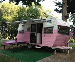 This 16 Pink Vintage Camper Is For Sale With An Asking Price Of 5800 Small Campers
