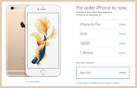 How to Pre order Unlocked iPhone 6s 6s Plus from Apple