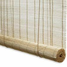 rideau store pas cher store enrouleur bambou naturel h 180 cm castorama