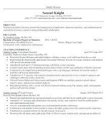 Resume Samples For Teaching Job Sample Of Kappa