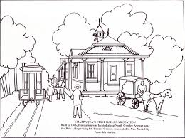 Greeleys Chappaqua Coloring Book Inside Page