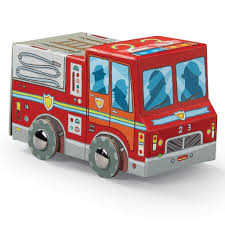 Mini Fire Truck Puzzle | Lottie Jane