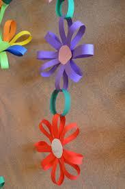 Easy Paper Flower Garland DIY