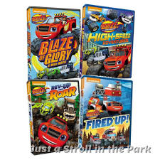 100 Monster Truck Dvd Blaze And The Machines TV Series Complete Collection Box