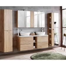 badezimmer hängeschrank toskana 56 in wotaneiche nb b h t ca 20 75 16cm