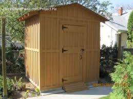 10x20 Shed Floor Plans by Custom Design Shed Plans 6x8 Gable Storage Diy Instructions And