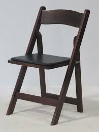 Walnut Folding Chair | Town & Country Event Rentals