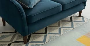 canap velours salon de jardin canapé d angle meilleur de canape velours bleu avec