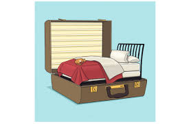 Ez Bed Frontgate by Stashable Sleepers For In Laws And Tangle Proofing Earbuds Wsj