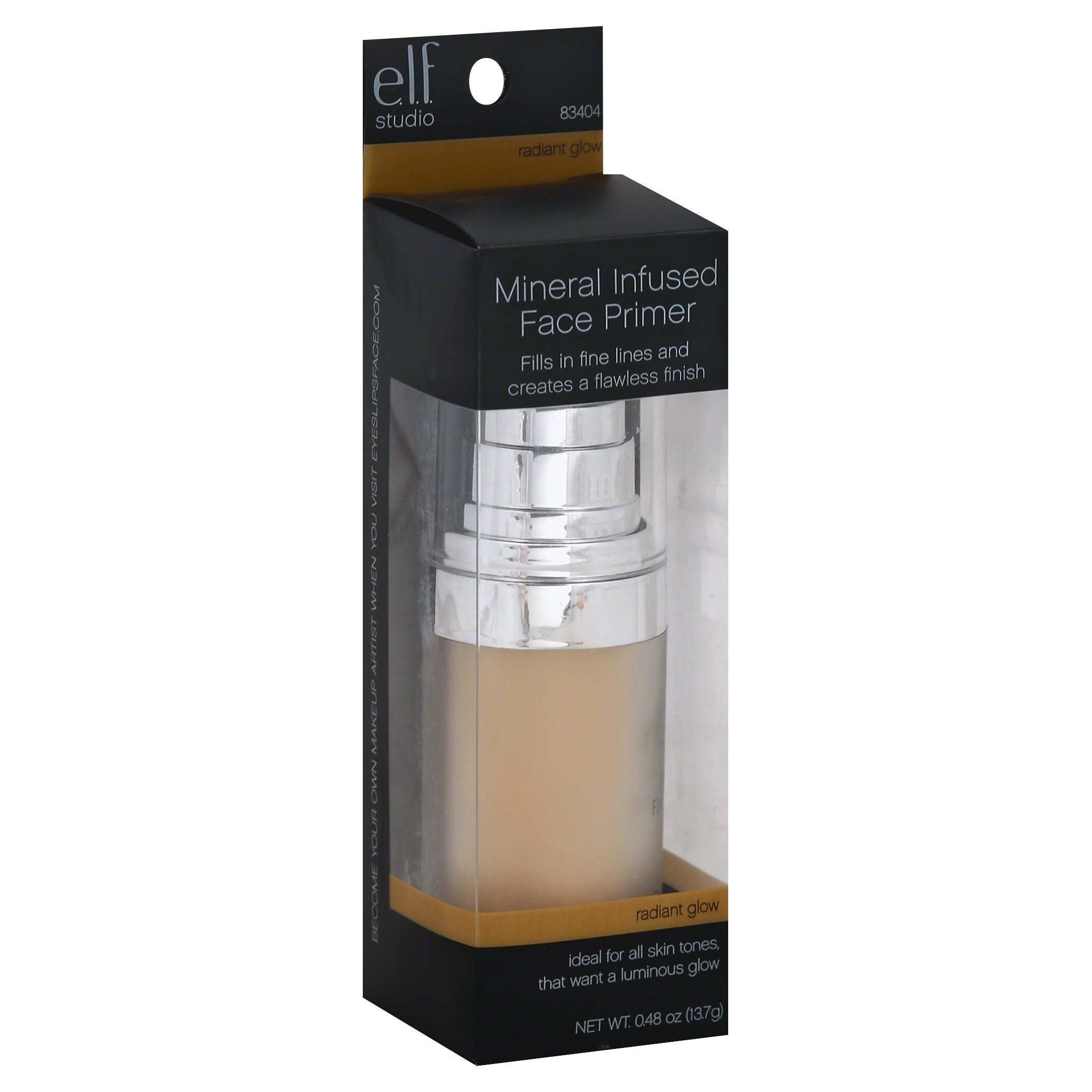 e.l.f. Studio Illuminating Face Primer - Radiant Glow, 0.49oz