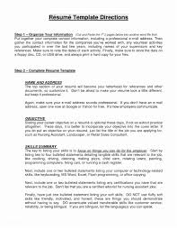 General Objectives For Resumes Examples Resume Objective Statements In