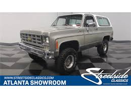 1976 Chevrolet Blazer For Sale | ClassicCars.com | CC-1081799