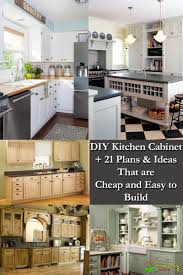 21 White Kitchen Cabinets Ideas Diy Kitchen Cabinet Plans 21 Ideas That Are Cheap Easy