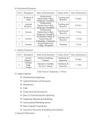 Sample Resume For Assistant Professor Position Folo Us Rh In Engineering College Freshers Pdf