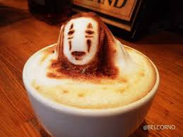 Cappuccino Art Anime 39709