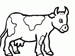 Coloriage Vache À Imprimer Concernant Dessin De Vache À Imprimer En