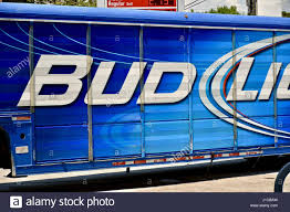 100 Bud Light Truck Truck Parked At Gas Station Stock Photo 138569953 Alamy