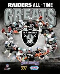 Oakland Radiers All Time Greats 16 Legends 3 Super Bowls