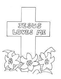 Color Pages Cross Coloring Page Printable Crossing Guard The Jordan River
